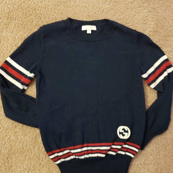 be367bd31 Gucci Shirts & Tops | Navy Blue Authentic Toddler Sweater | Poshmark